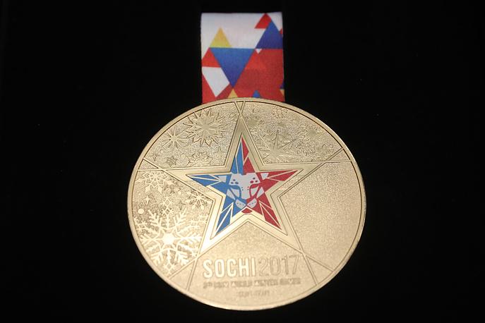 Презентация наград III зимних Всемирных военных игр