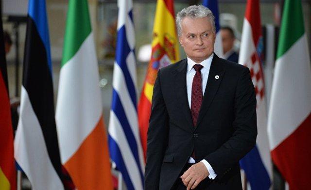 Президент Литвы Гитанас Науседа