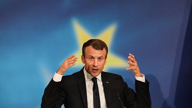 Президент Франции Эммануэль Макрон. Архивное фото.