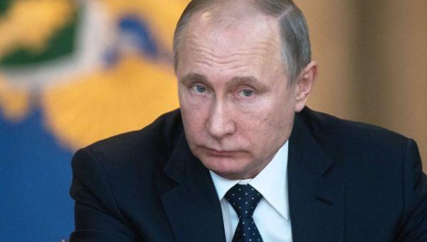 Президент РФ Владимир Путин. 15 февраля 2018