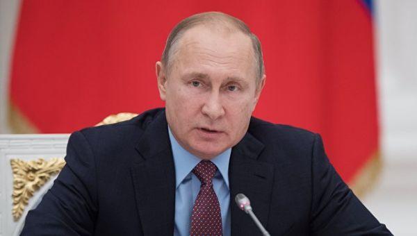 Президент РФ Владимир Путин. 25 декабря 2017