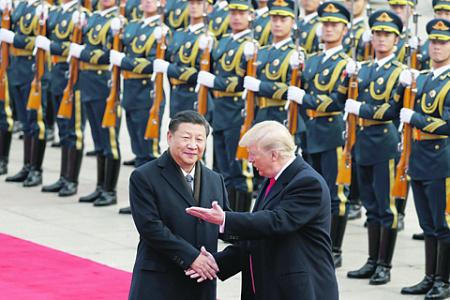 Президент США Дональд Трамп пытается включить Китай в орбиту договоров по ограничению ракетных вооружений. Фото Reuters