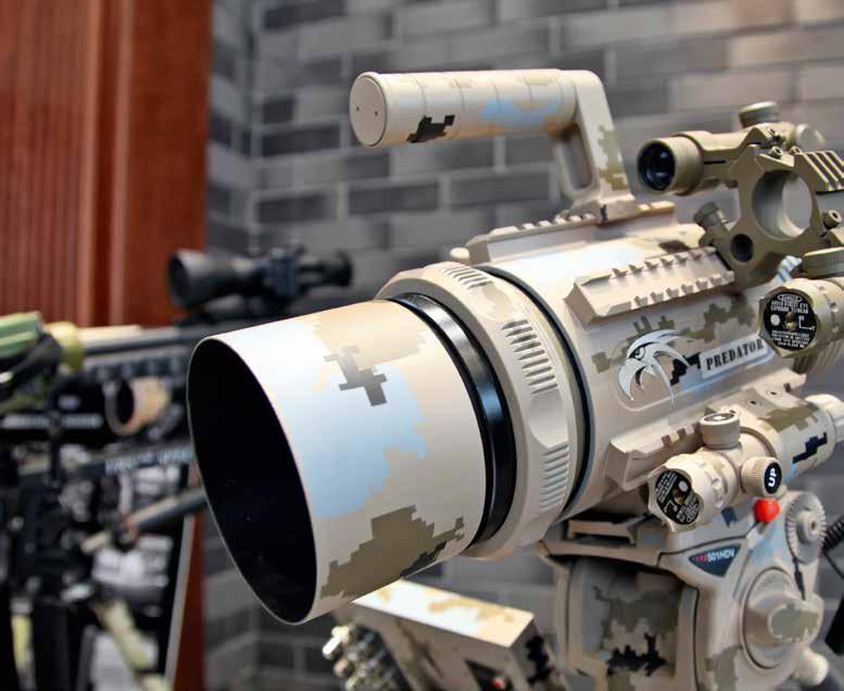 Система дальнего наблюдения, опознавания и целеуказания Хищник (Predator surveillance device).