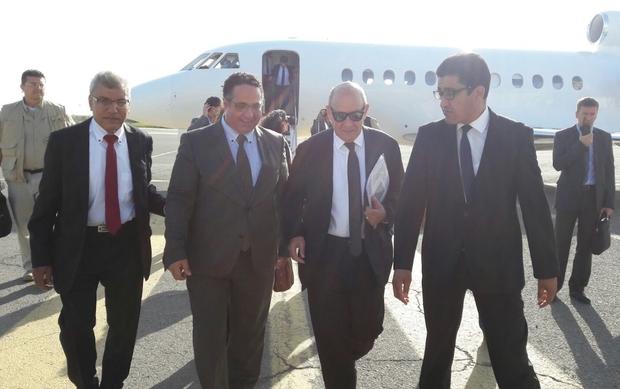 Прибытие министра иностранных дел Франции Жана-Ива Ле Дриана в Ливию, 04.09.2017.