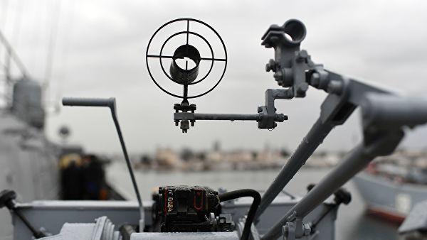 Прицел крупнокалиберного 14,5-мм пулемета