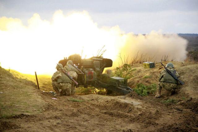 Применение артиллерии
