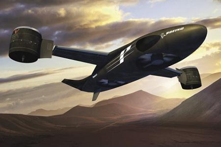 """""""Призрачный стриж"""", разработку которого вела компания Boeing, дальше постройки масштабной модели не пошел. Иллюстрация с сайта <a href=""""http://www.boeing.com"""">www.boeing.com</a>"""