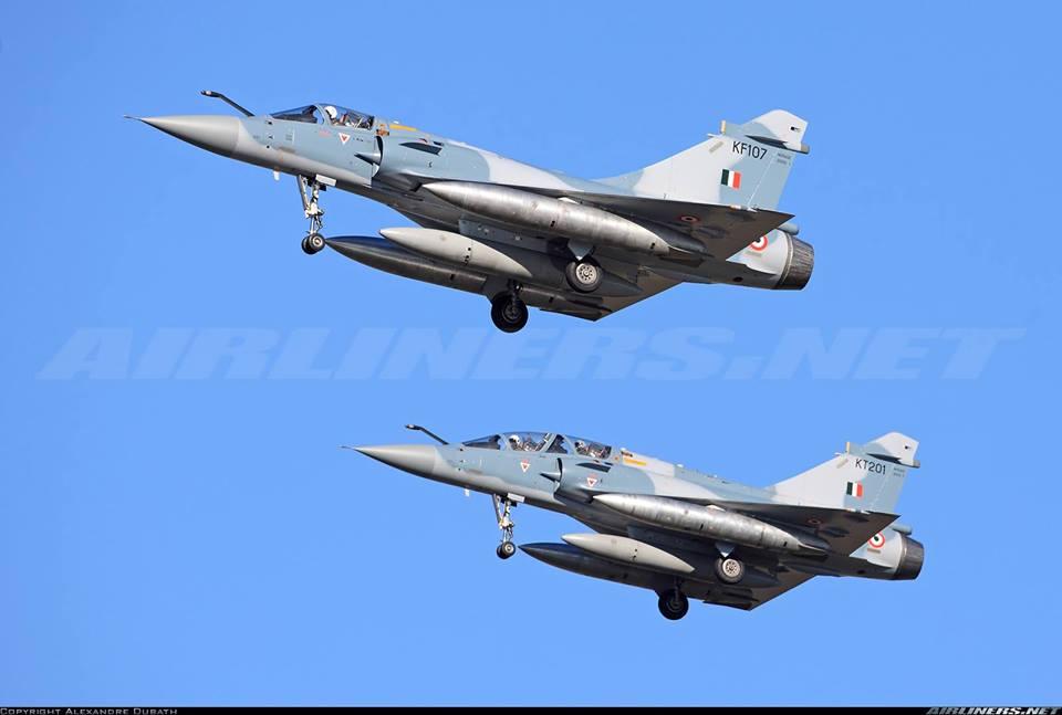 Истребители Mirage 2000I.