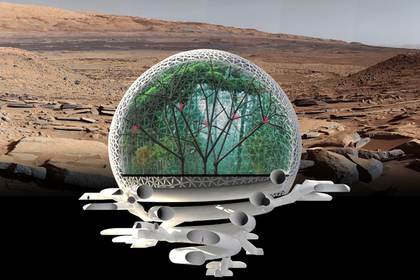 Проект дома на Марсе