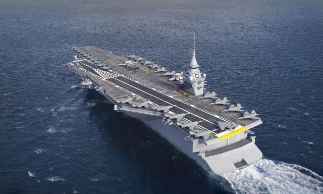 Проект нового авианосца