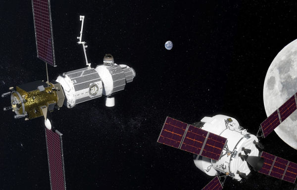 Проект окололунной станции (Deep Space Gateway)