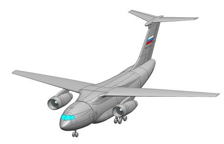 Проект военно-транспортного самолета Ил-276