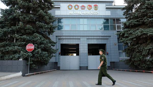 Проходная РКЦ Прогресс в Самаре