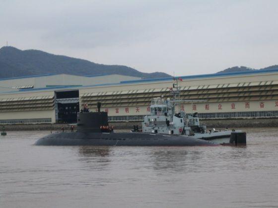 Китайская субмарина проекта 041