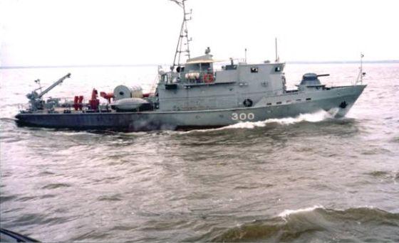 Корабль проекта 10750Э