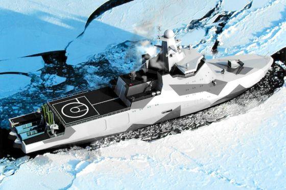 Корабль проекта 23550