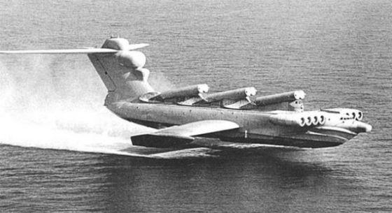 Советский ракетный экраноплан пр. 903 «Лунь»