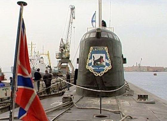 """АПЛ К-132 """"Иркутск"""""""