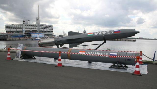 "Противокорабельная ракета ""БраМос"" на МВМС-2007"