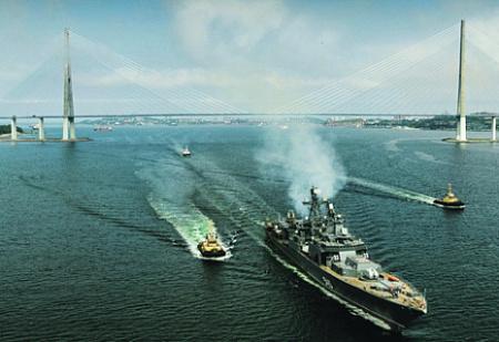 Противолодочные корабли проекта 1155 продемонстрировали свою жизнеспособность в современных условиях. Фото с сайта www.mil.ru
