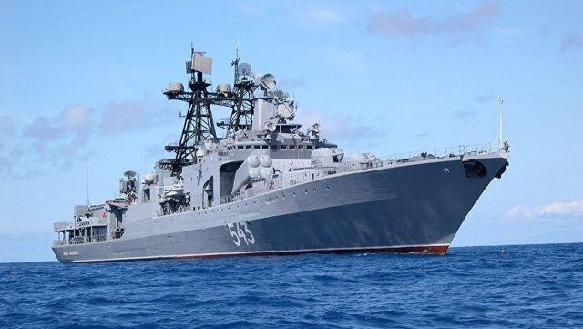 """Противолодочный корабль """"Маршал Шапошников"""""""