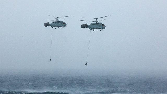 Противолодочные вертолеты Ка-27. Архивное фото.