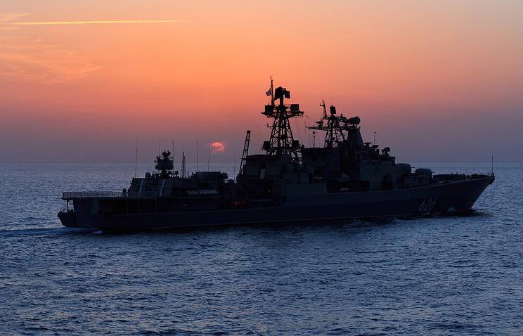 Большие противолодочные корабли проекта 1155 (Udaloy)