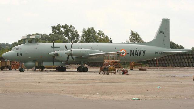"""Противолодочный самолет Ил-38SD """"Морской змей"""" ВВС Индии"""