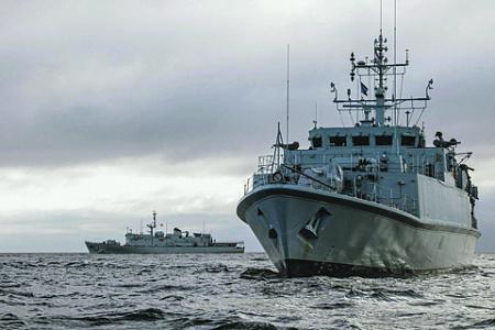 Противоминные корабли Blyth и Ramsey типа Sandown выведены из состава британских ВМС для передачи Украине. Фото с сайта www.royalnavy.mod.uk