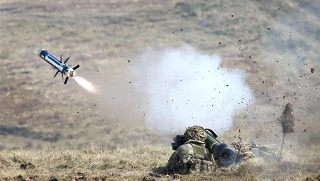 Противотанковый ракетный комплекс Javelin ВС США.
