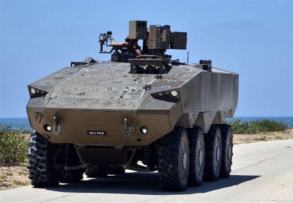 Прототип бронетранспортёра Eitan.