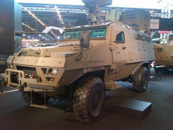 Прототип легкого варианта бронеавтомобиля VBMR Bastion HM разработки входящей в состав