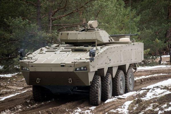 Прототип Patria AMV XP для ВС Словакии.
