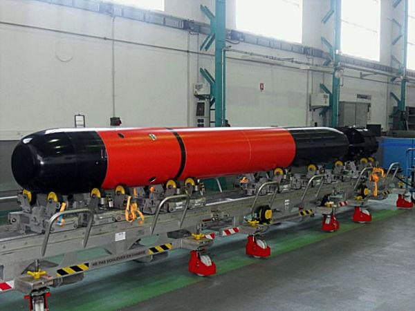 Прототип торпеды F21.