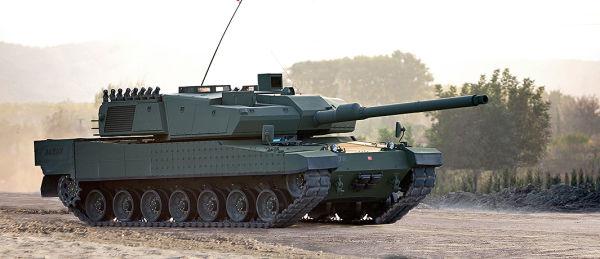 Прототип турецкого основного боевого танка Altay