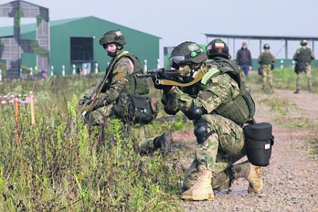 Проведение совместных учений позволяет поддерживать высокую боеспособность силовых структур стран – участниц ОДКБ. Фото пресс-службы ОДКБ