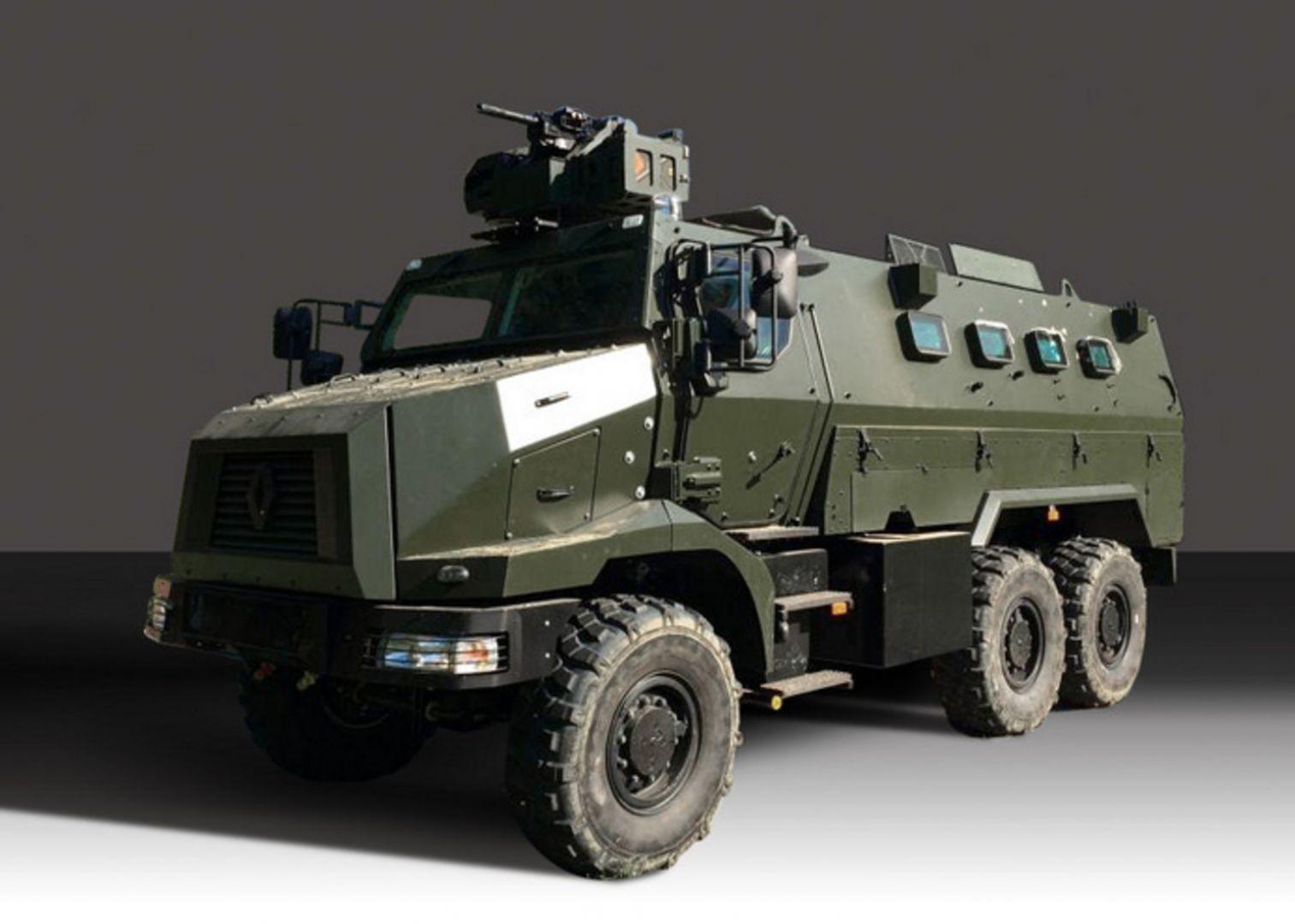 Планируемая к приобретению Сингапуром бронированная машина Protected Response Vehicles (PRV) класса MRAP, являющаяся вариантом бронированной машины Renault Truck Defense Higuard.