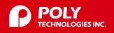 Логотип Poly Technologies, Inc