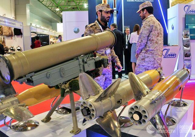 ПТРК Корнет-ЭМ на международной выставке вооружения и военной техники. Архивное фото