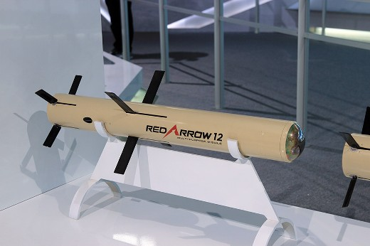 """Китайский переносной ПТРК третьго поколения """"Red Arrow 12""""."""