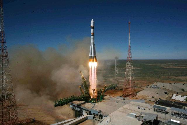 Пуск ракеты «Союз-2»