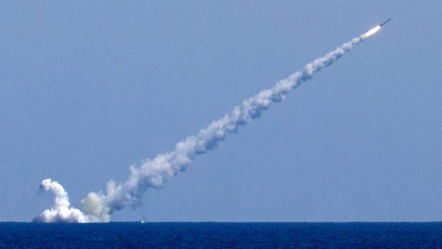 """Пуск ракет """"Калибр"""""""