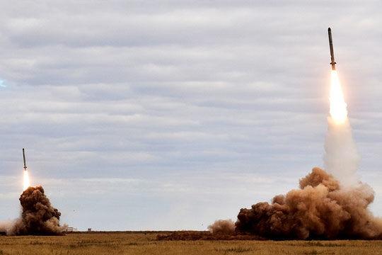 Пуск ракеты 9М729