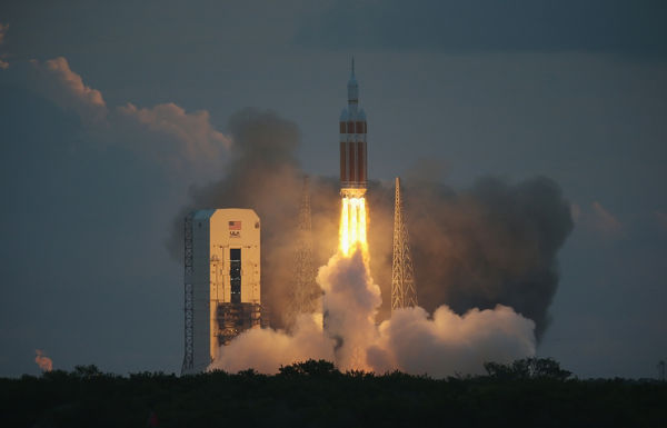 Пуск ракеты Delta IV