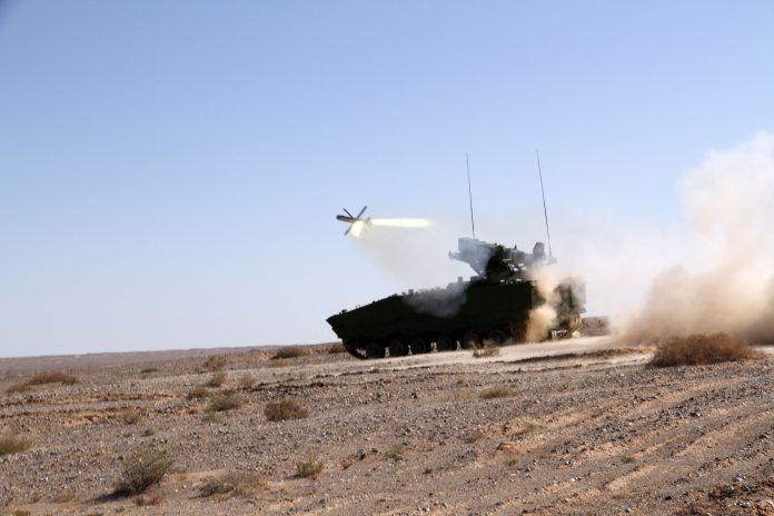 Пуск ракеты HJ-10.
