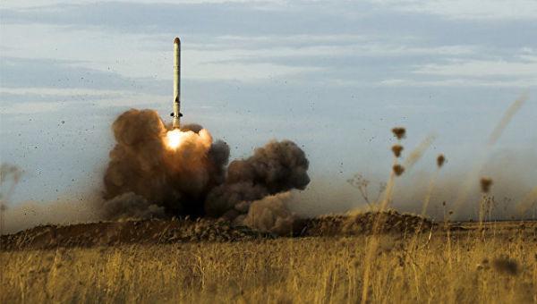 Пуск ракеты Искандер-М