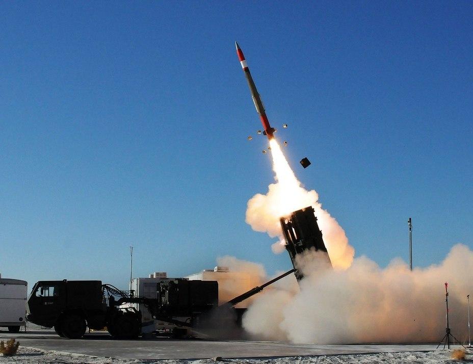 Пуск ракеты PAC-3 MSE.