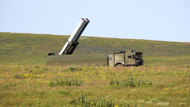 Пусковая установка берегового ракетного комплекса «Бастион»
