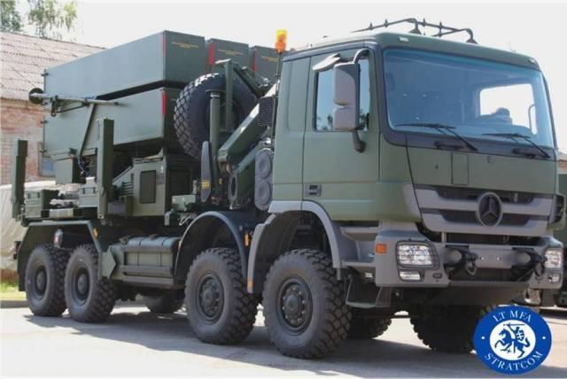 Пусковая установка системы ПВО NASAMS