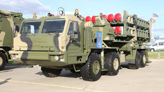 "Пусковая установка зенитно-ракетного комплекса С-350 ""Витязь"""